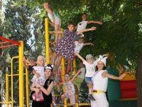 Детская площадка. Санаторий «Голден»