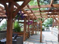 летняя площадка кафе