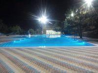 Открытый бассейн.