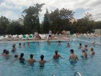 анимация в бассейне