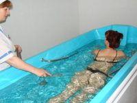 Санаторий «Саки», лечебные ванны