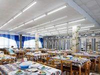 Санаторий «Северный» Евпатория: столовая
