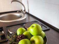 студия с кухней (кухонная зона)