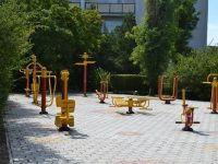 Санаторий «Северный» Евпатория: уличные тренажеры