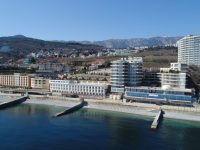СПА отель «Ливадийский», вид с моря