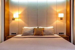 Санаторий «Форос». Спальня люкса.