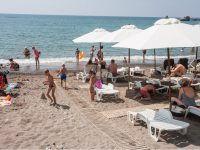 пляж..