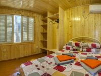 спальня домика гостиница