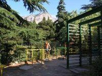 Санаторий «Форос». спорт площадка