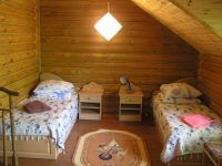 Санаторий «Полтава» Крым. Деревянный сруб (7 корпус)