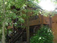 Санаторий «Полтава» Крым, деревянный сруб