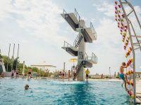 Отель «Ялта Интурист». Прыжковый бассейн