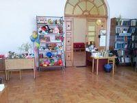 детская комната и библиотека