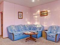 Санаторий «Полтава» Крым. 2-местный 2-комнатный люкс с видом на море (корп 4)