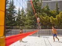 Волейбол на белом песке