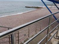 Санаторий «Пушкино» Гурзуф: пляж