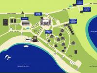 схема пансионата Солнечная долина Оленевка