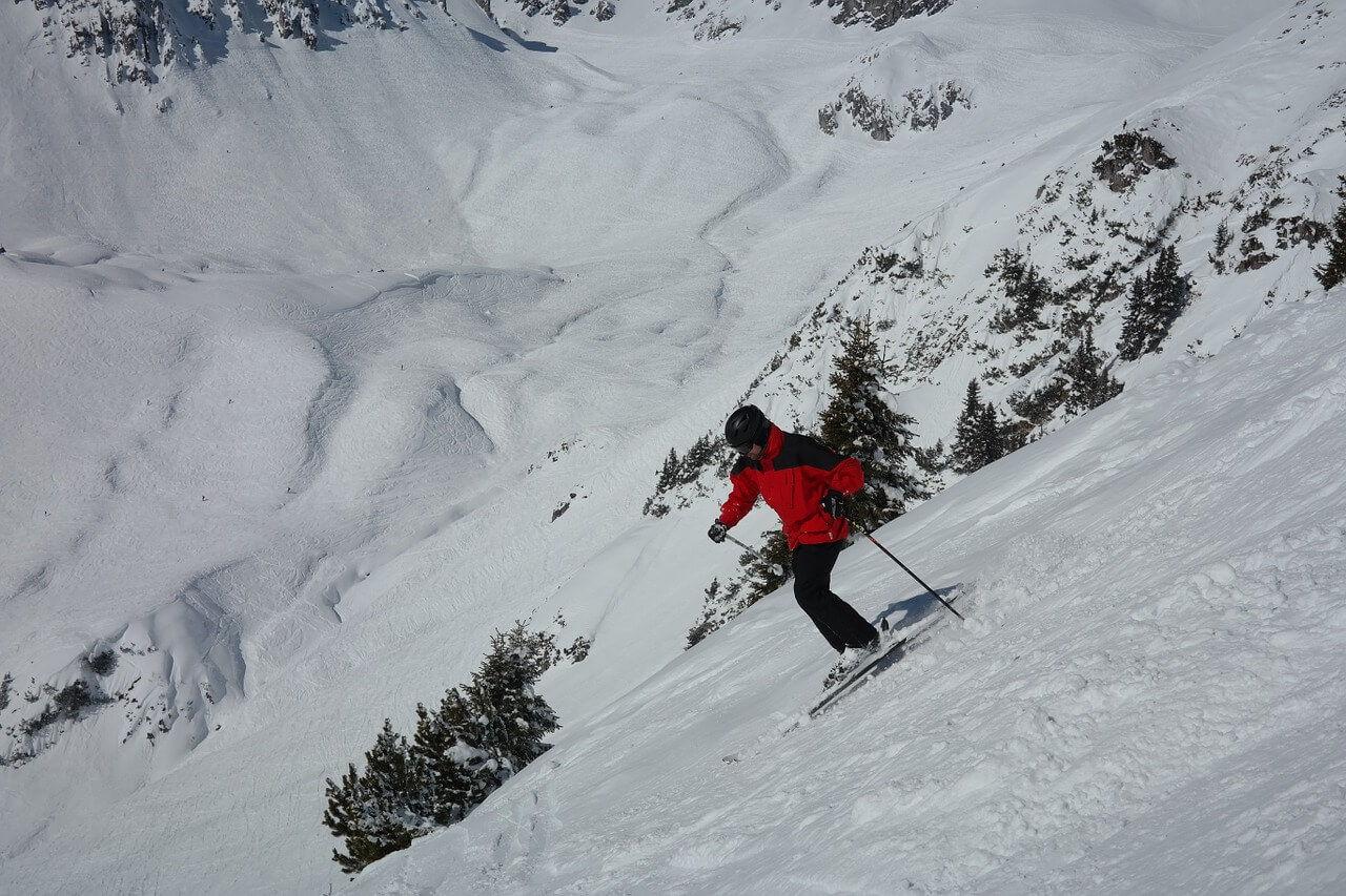 Катание на горных лыжах в Крыму - блог на Kenesh.com