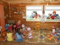 Детская анимация в игровой комнате