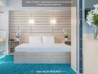 кровать люкса студио